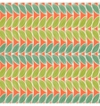 Horizontal abstract seamless pattern vector image