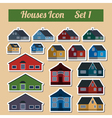 Houses icon setr Elements for creating your vector image