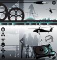 Music invasion vector image