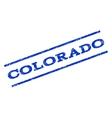 Colorado Watermark Stamp vector image
