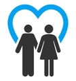 Marriage Flat Icon vector image