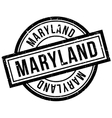 Maryland rubber stamp vector image