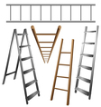 Ladder set vector image vector image