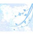 seasonal abstract floral vector image