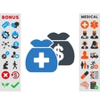 Health Care Funds Icon vector image