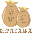 Keep The Change vector image