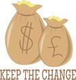 Keep The Change vector image
