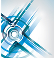 abstract intersection background vector image vector image