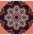 Seamless colorful pattern in oriental style vector image