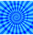 Abstract Burst Ray Background Blue vector image