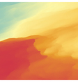 Abstract Desert Landscape Background vector image