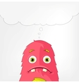 Funny Monster Engry vector image