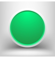 Green frame with shadow vector image vector image