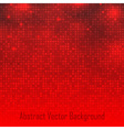 Abstract Red Technology Glow Background vector image