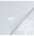 Winter holiday background with space for text vector image