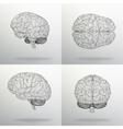 Set human brain The vector image