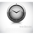 Background with clock vector image vector image