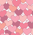 hearts design vector image