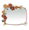 elegant floral frames vector image