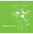 Greeting card with copy space vector image vector image