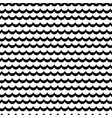 abstract sea wave frill black and white vector image vector image