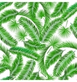 Tropical palm tree seampless pattern vector image