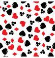 gambling pattern vector image