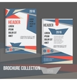 brochure cover design templates with vector image