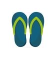Flip flops sandals vector image
