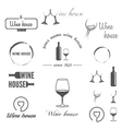 Set of badges labels logo and logotype elements vector image