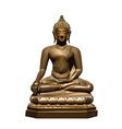 Statue of Buddha Subdoing Mara vector image