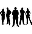 young professionals vector image