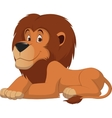Cute lion cartoon vector image