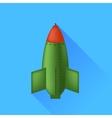 Single Bomb vector image vector image