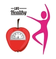 life health design vector image