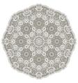 round Mandala vector image vector image