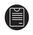 note board icon vector image