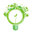 Ecology concepts design vector image