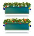 Christmas Billboard vector image