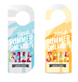 Summer Sale Tag Template vector image