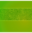 Nature stripe ornamental background vector image