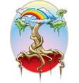 world tree vector image vector image
