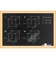black school Blackboard vector image vector image