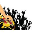 Cartoon musicians vector image vector image