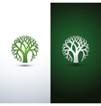 tree logo 2 vector image