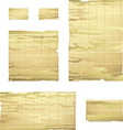 collection of bamboo banner drawing vector image