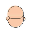 man face with cap cartoon repair character work vector image