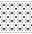 white black vintage seamless pattern vector image vector image
