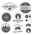 Set of logo labels badges and logotype elements vector image