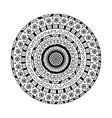 round mandala ethnic decorative ornament vector image